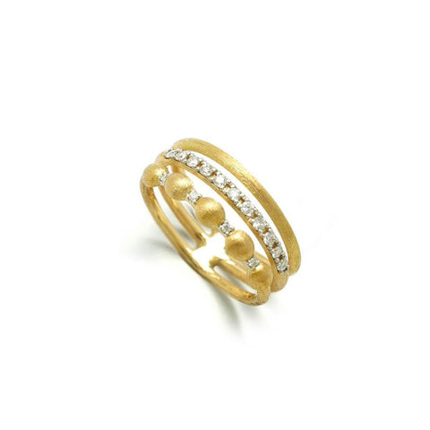 Dancing In The Rain Elite 3-Band Ring - AS23-583-Nanis-Renee Taylor Gallery