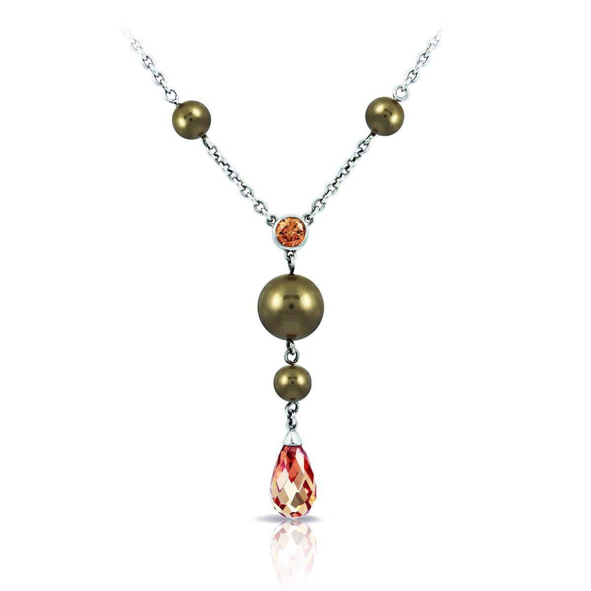 Alexandria Champagne Necklace-Belle Etoile-Renee Taylor Gallery