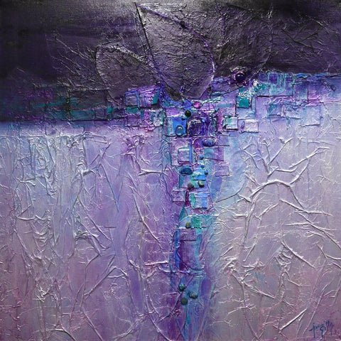 """Aubergine Nights""-Jan Sitts-Renee Taylor Gallery"