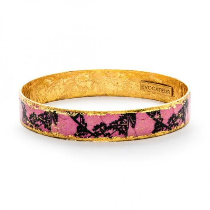 Pink Lingerie Bangle - BA504-Evocateur-Renee Taylor Gallery