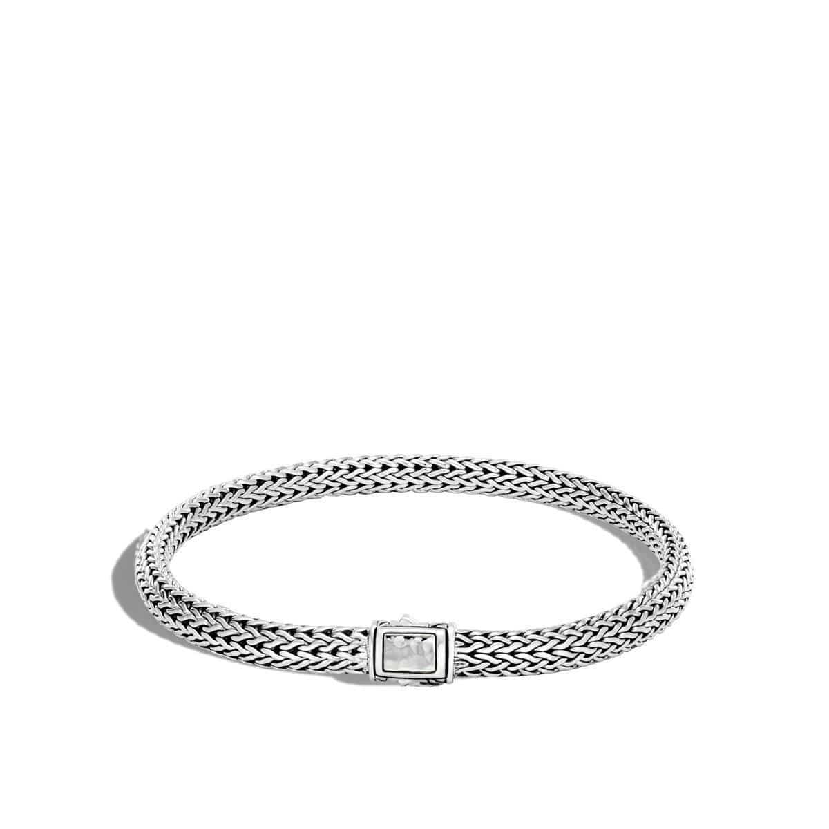 Classic Chain Hammered Bracelet - BB96184