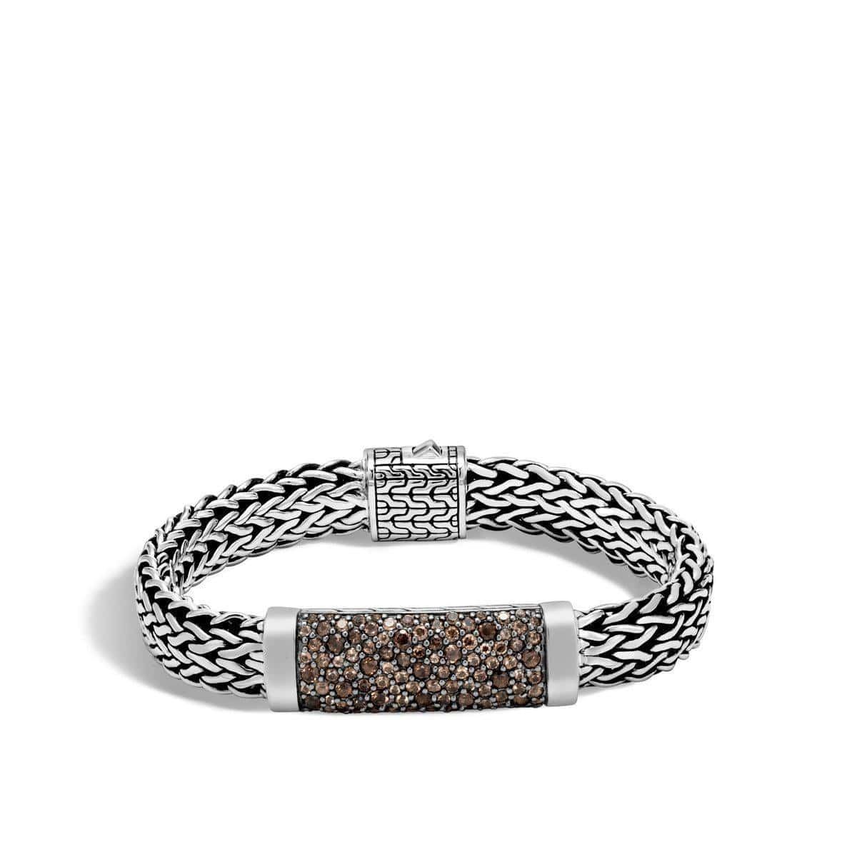 Classic Chain Men's Smoky Quartz Bracelet - BMS9910094SQ-John Hardy-Renee Taylor Gallery