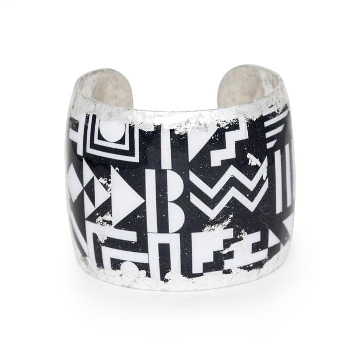 Geometry Cuff - BW101-Evocateur-Renee Taylor Gallery