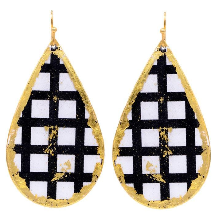 Windows Teardrop Earrings - BW403