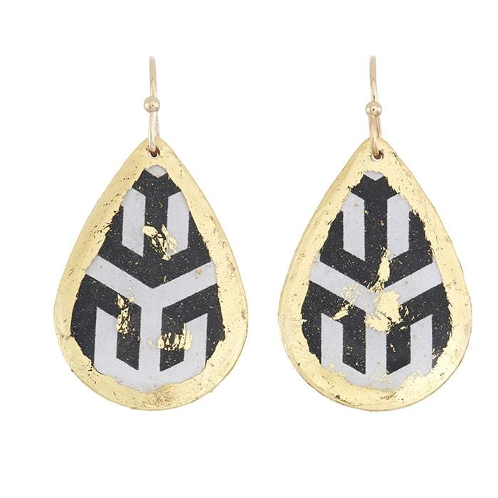 Hera Small Teardrop Earrings - BW429-Evocateur-Renee Taylor Gallery