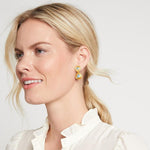 Barcelona Midi Gold Pearl Earrings - ER608GPL00-Julie Vos-Renee Taylor Gallery