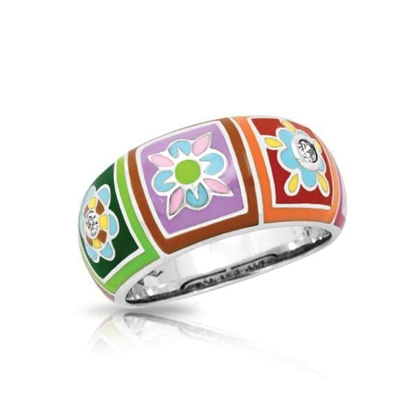 Bavaria Multicolor Ring-Belle Etoile-Renee Taylor Gallery
