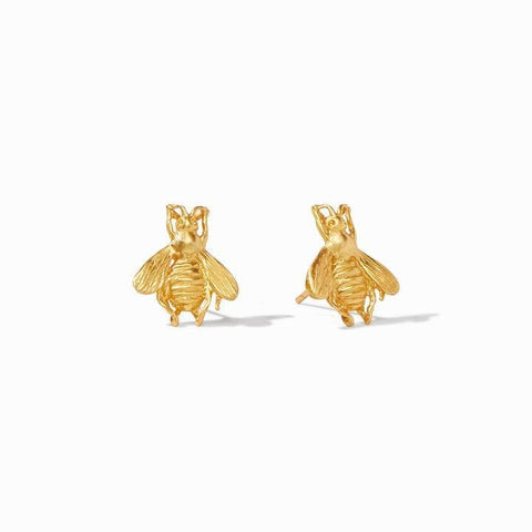 Bee Gold Stud Earring - ER425G00-Julie Vos-Renee Taylor Gallery