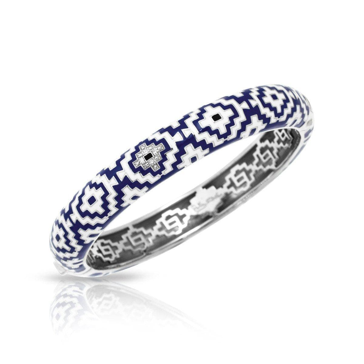 Aztec Blue Bangle-Belle Etoile-Renee Taylor Gallery