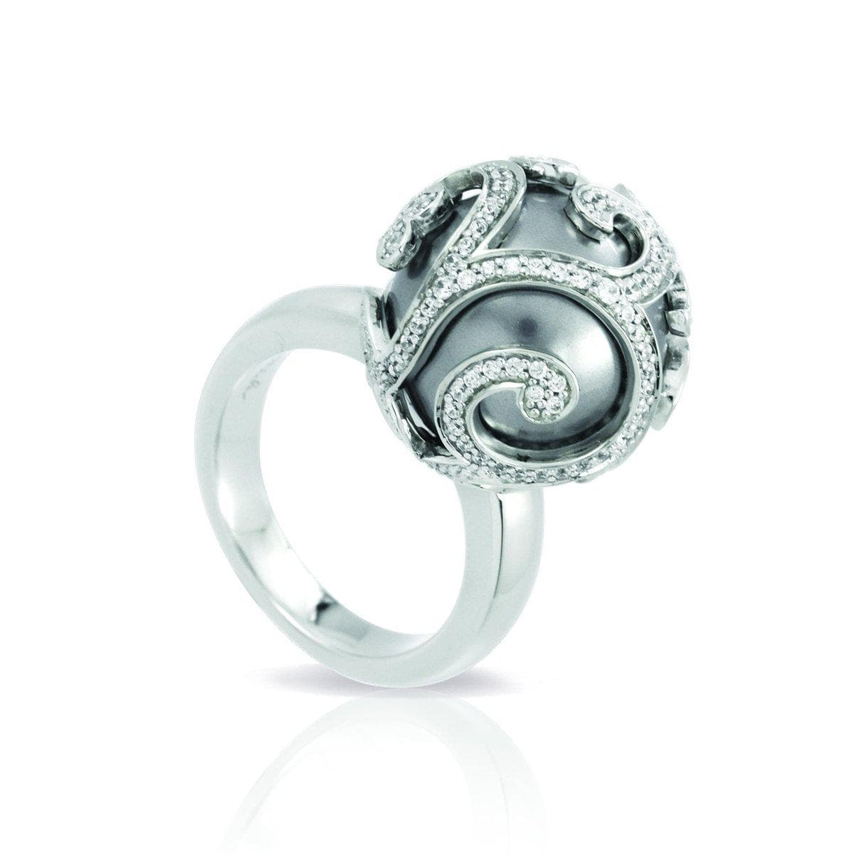 Beauty Bound Grey Ring-Belle Etoile-Renee Taylor Gallery