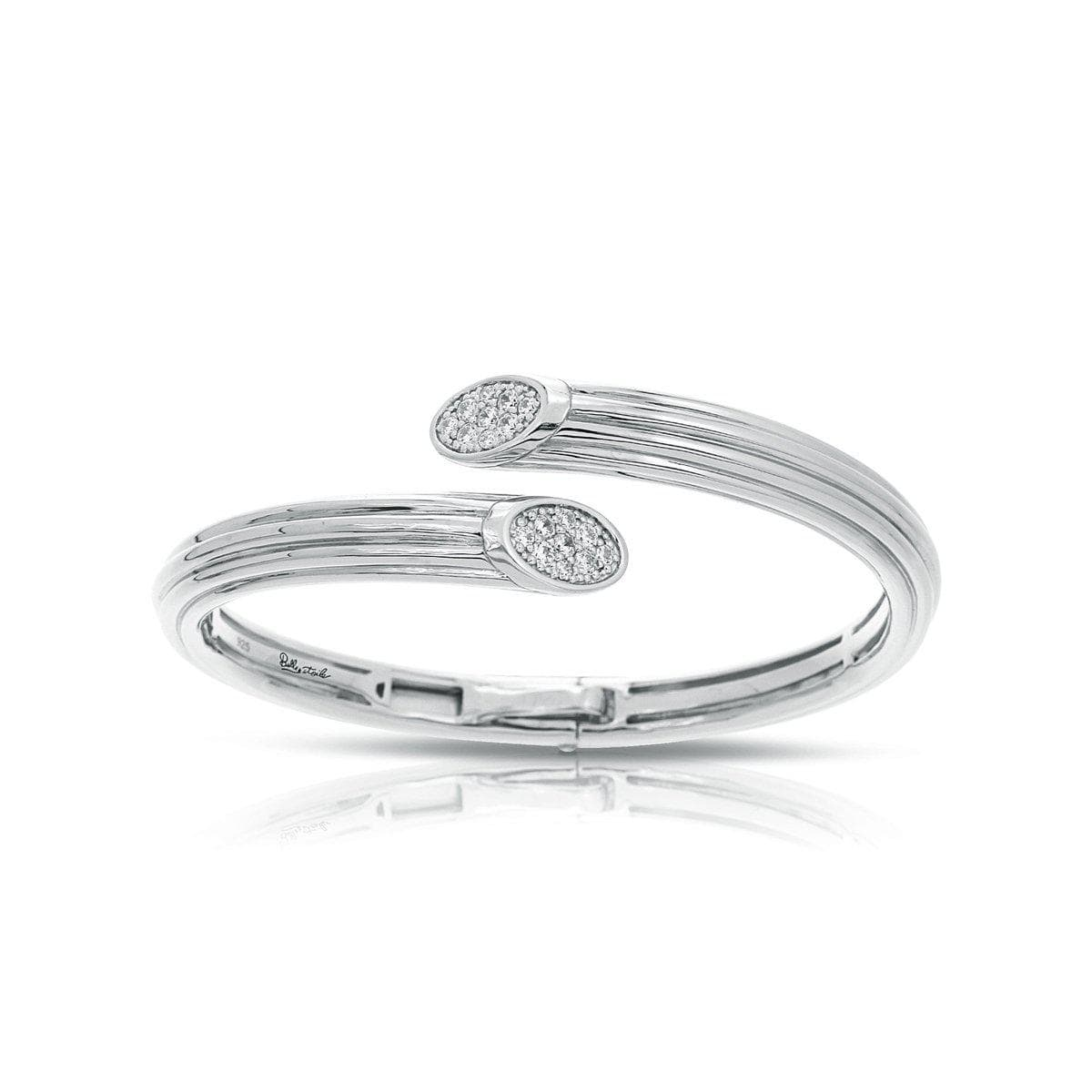 Cavo White Bangle-Belle Etoile-Renee Taylor Gallery