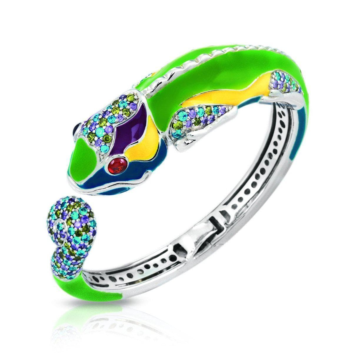 Chameleon Green Bangle-Belle Etoile-Renee Taylor Gallery