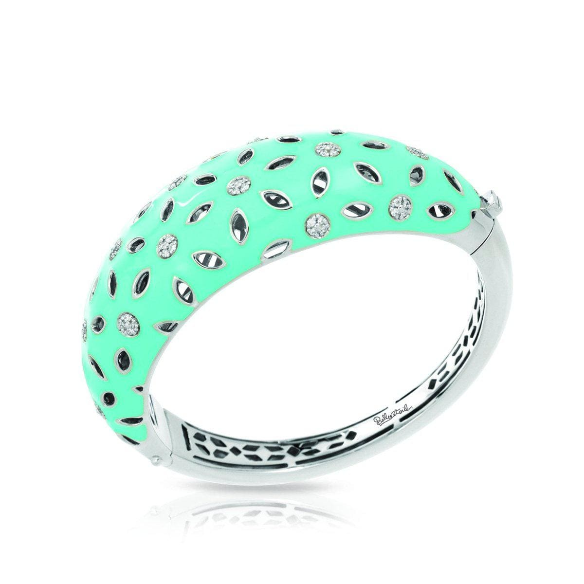 Charlotte Aqua Bangle-Belle Etoile-Renee Taylor Gallery
