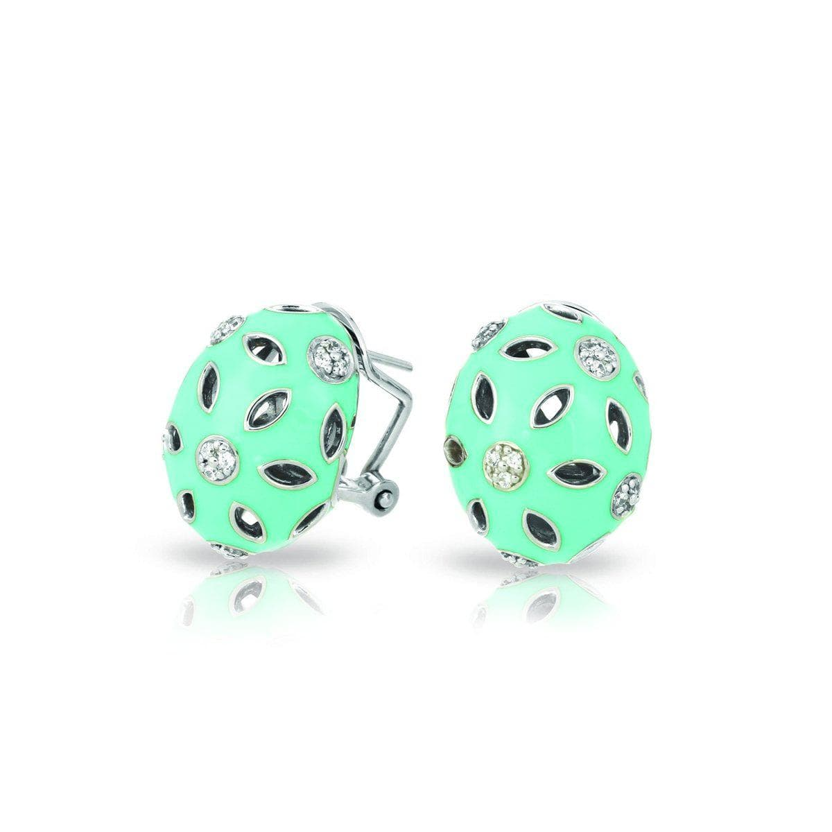Charlotte Aqua Earrings-Belle Etoile-Renee Taylor Gallery