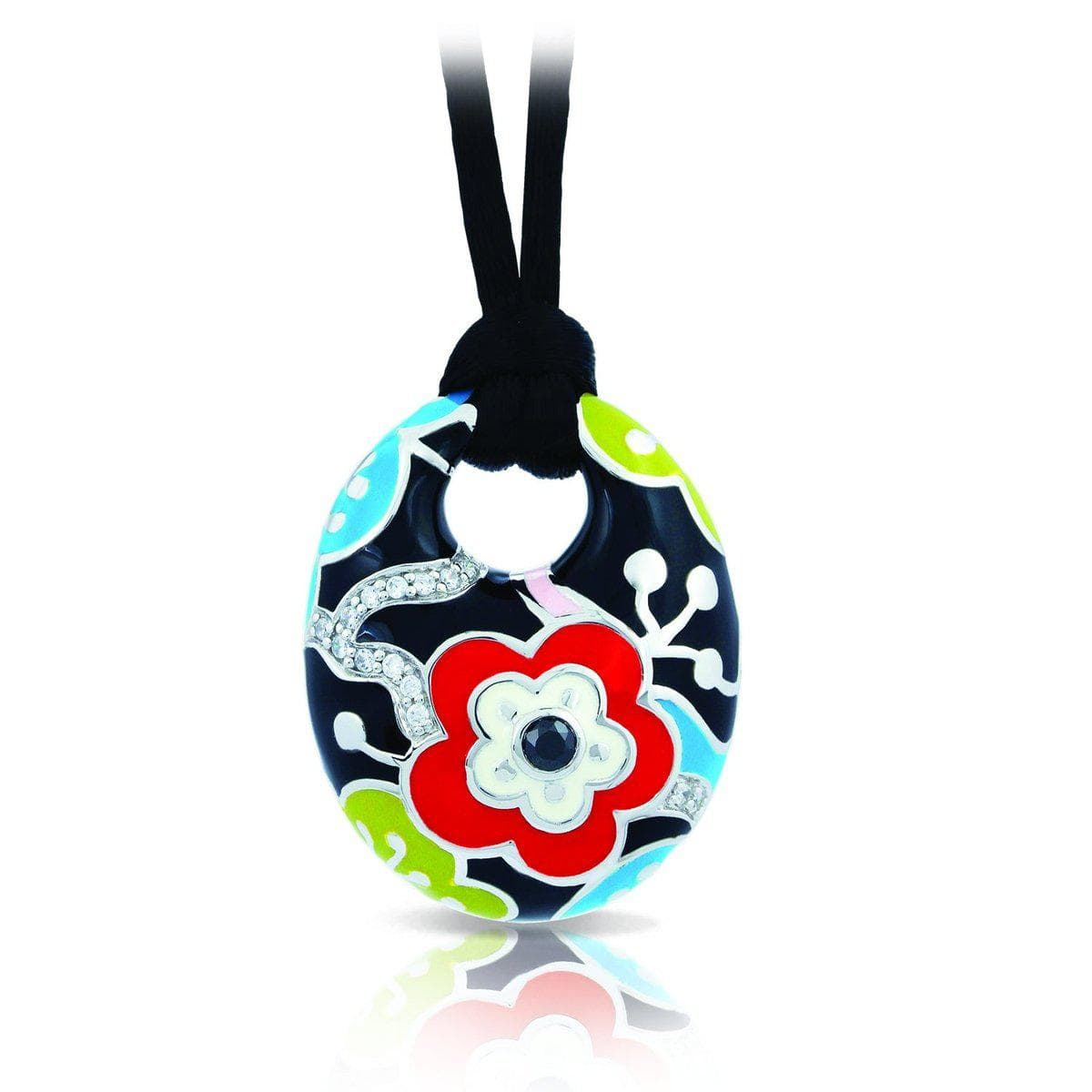 Cherry Blossom Red Pendant