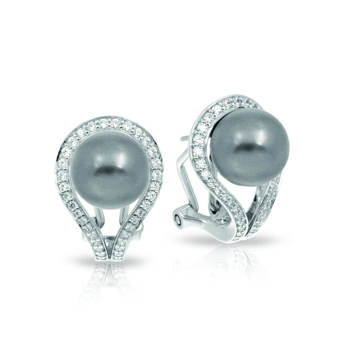 Claire Grey Earrings-Belle Etoile-Renee Taylor Gallery