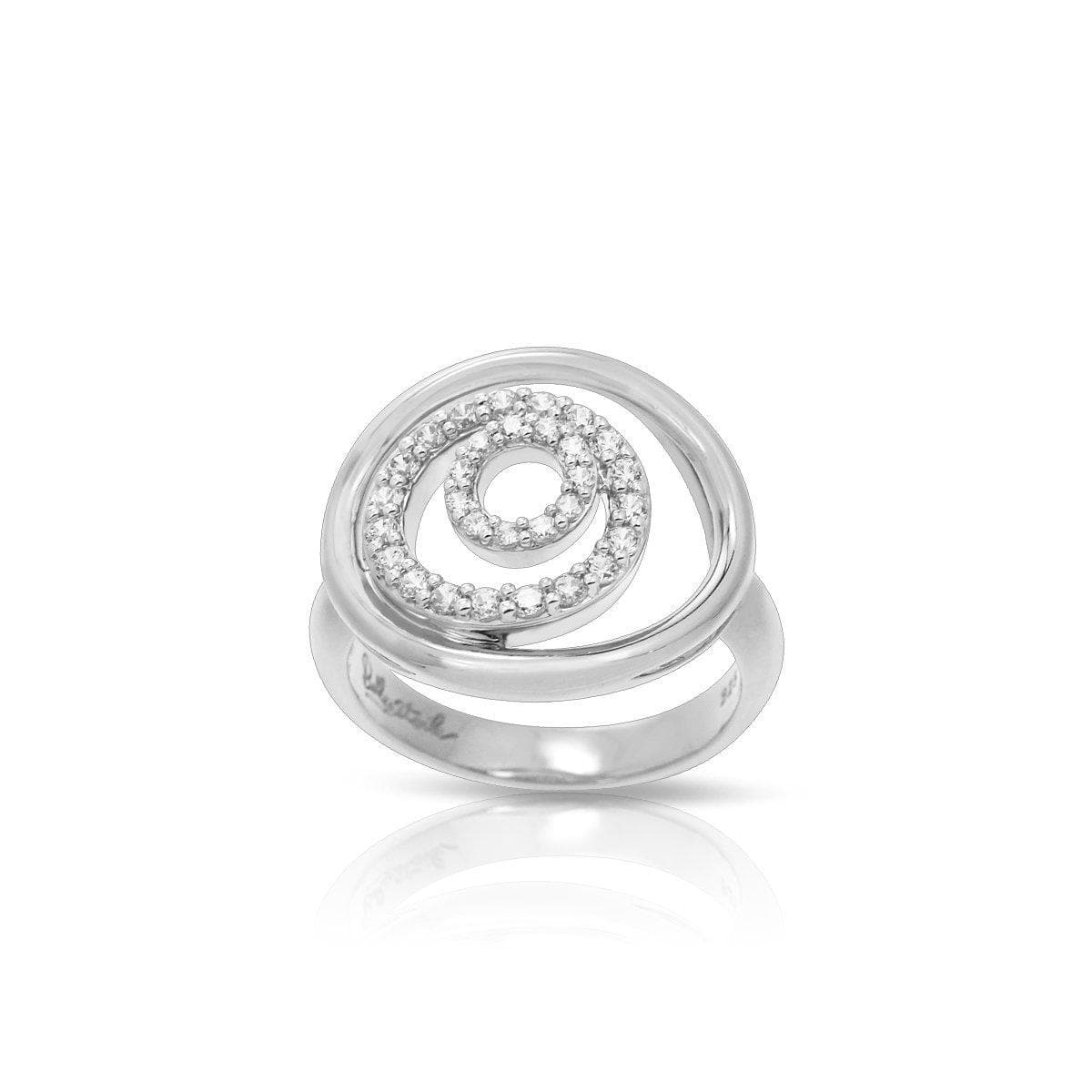 Concentra White Ring-Belle Etoile-Renee Taylor Gallery