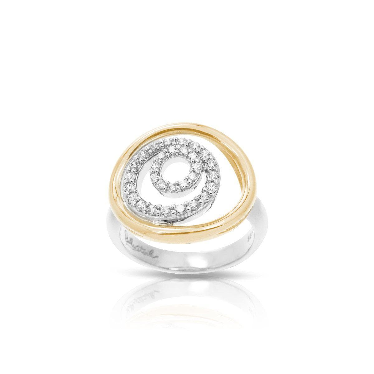 Concentra White and Yellow Ring-Belle Etoile-Renee Taylor Gallery