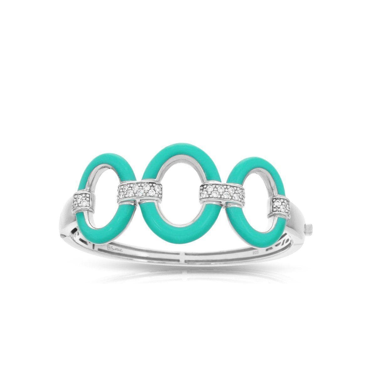 Connection Aquamarine Bangle-Belle Etoile-Renee Taylor Gallery
