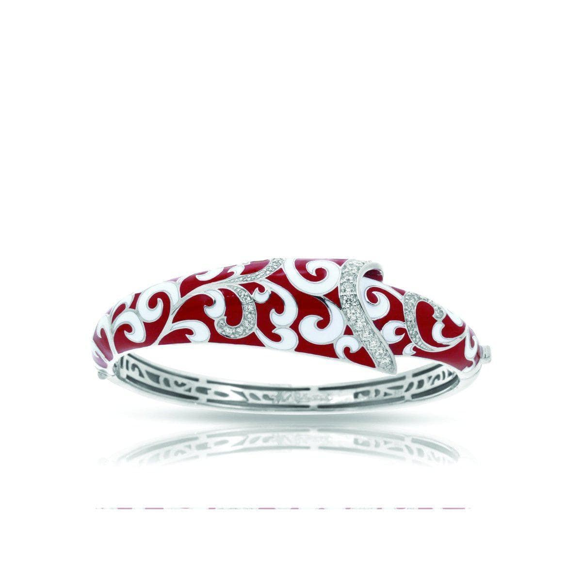 Contessa Red Bangle-Belle Etoile-Renee Taylor Gallery