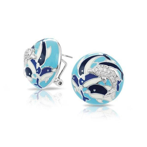 Delfino Blue Earrings-Belle Etoile-Renee Taylor Gallery