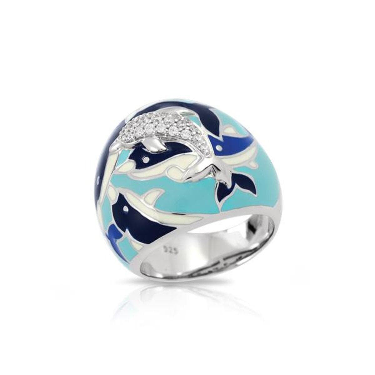 Delfino Blue Ring-Belle Etoile-Renee Taylor Gallery