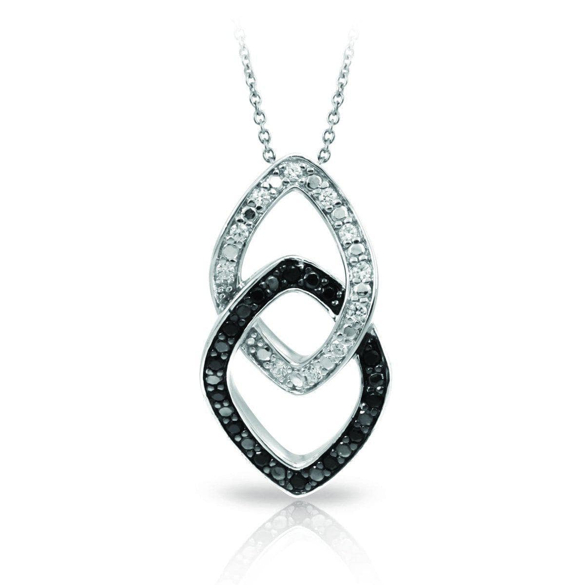 Duet Black and White Pendant-Belle Etoile-Renee Taylor Gallery