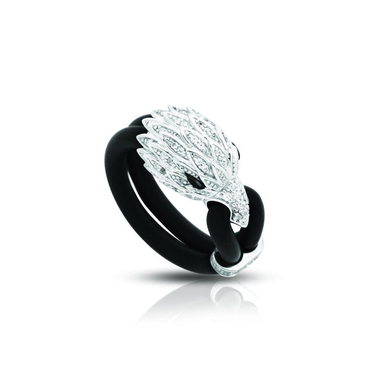Eagle Black Ring