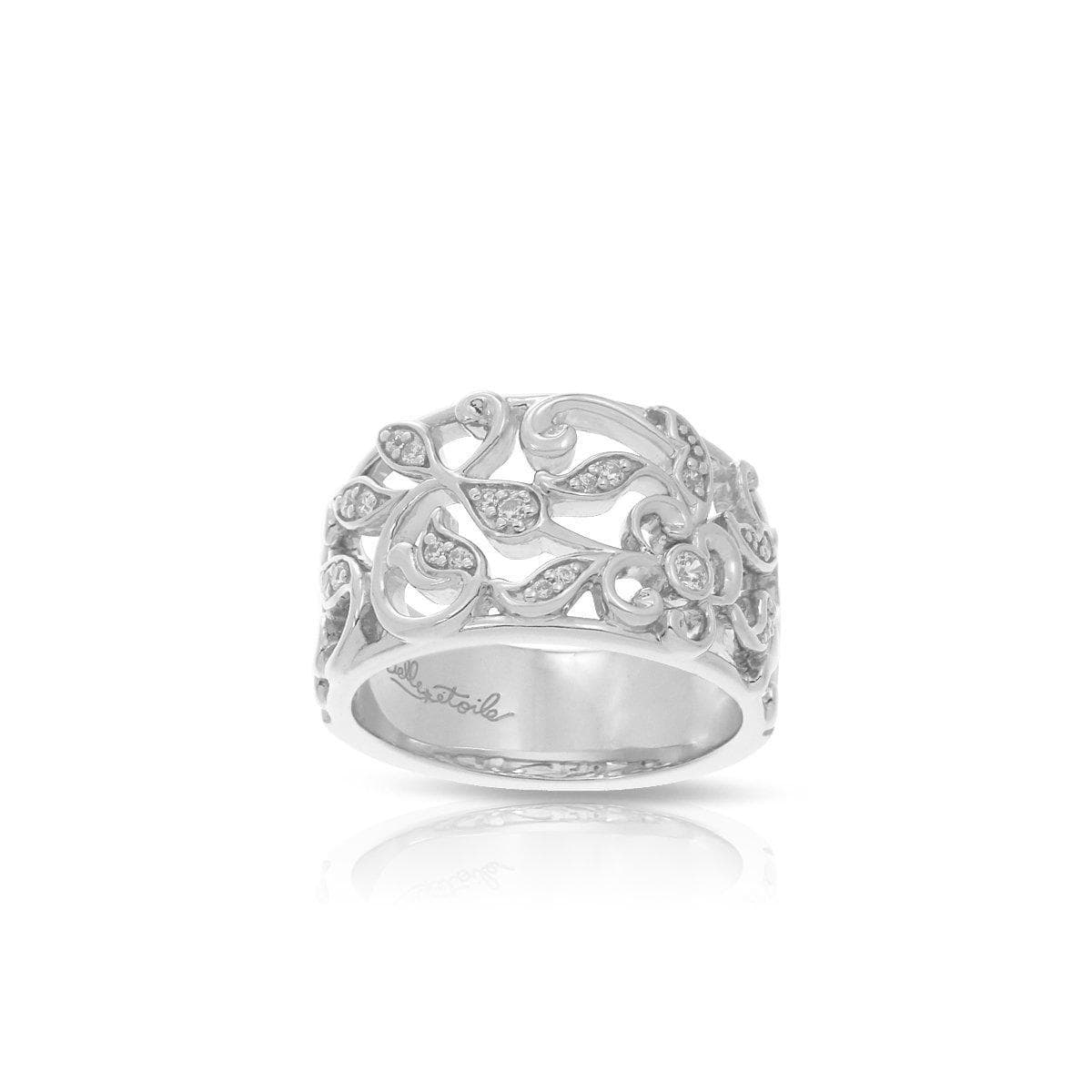 Empress Silver Ring-Belle Etoile-Renee Taylor Gallery