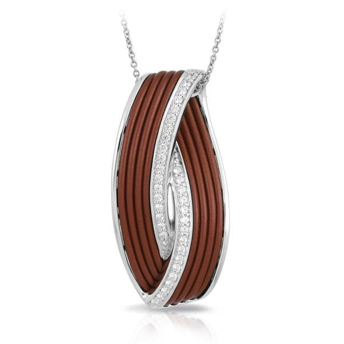 Eterno Brown Pendant-Belle Etoile-Renee Taylor Gallery