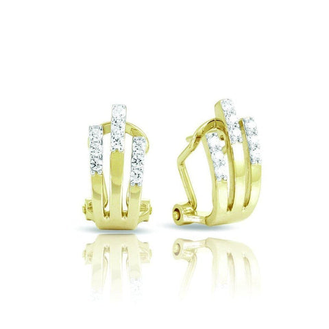 Fontaine Yellow Earrings-Belle Etoile-Renee Taylor Gallery