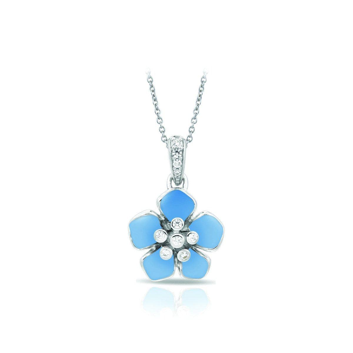 Forget-Me-Not Serenity Blue Pendant