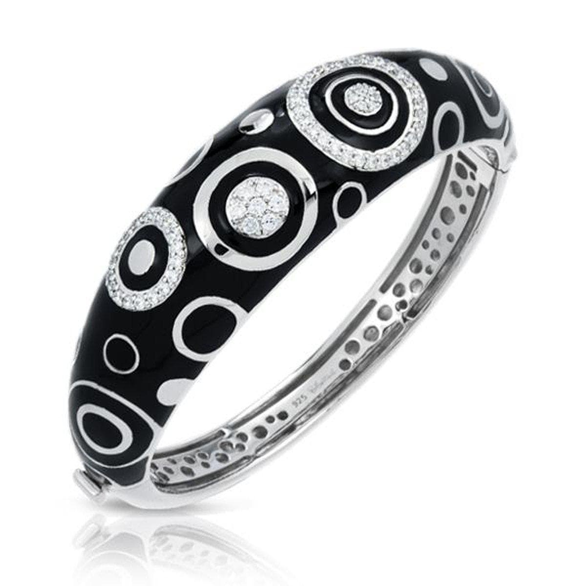 Galaxy Black Bangle-Belle Etoile-Renee Taylor Gallery