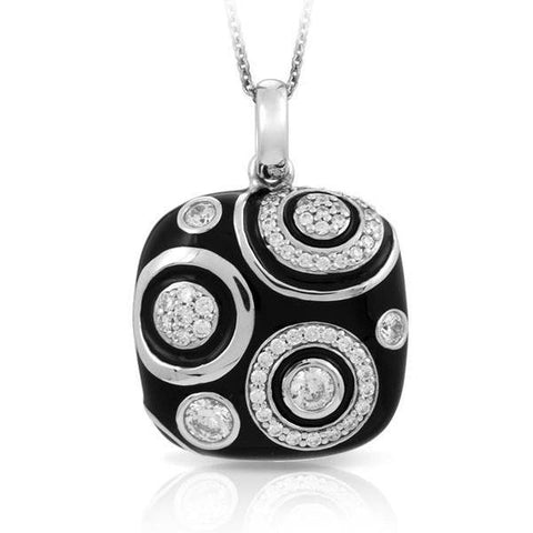 Galaxy Black Pendant-Belle Etoile-Renee Taylor Gallery