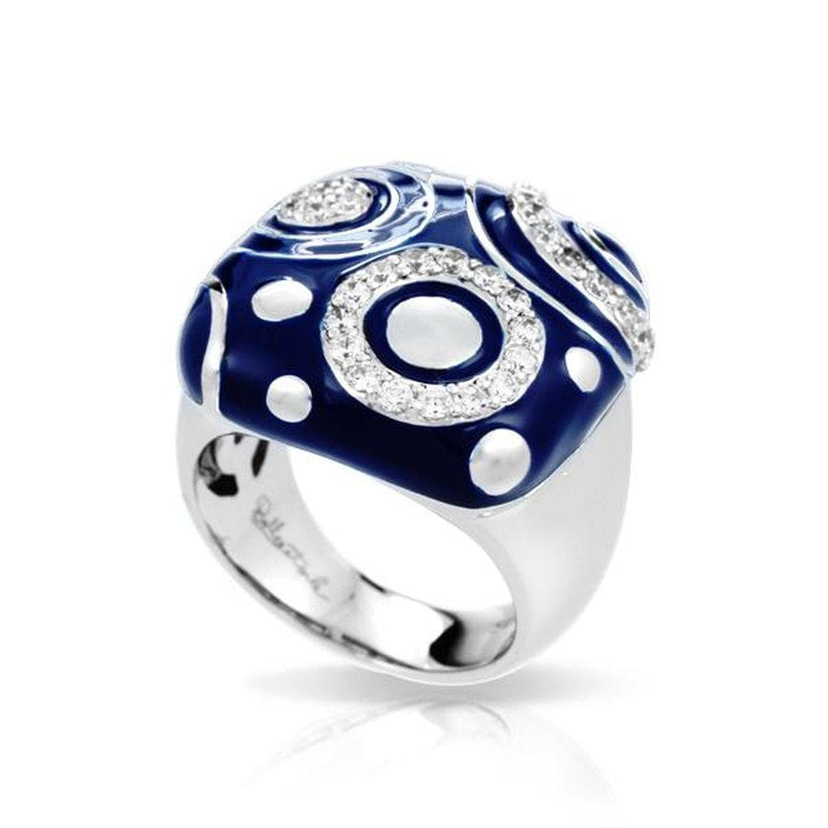 Galaxy Iris Blue Ring