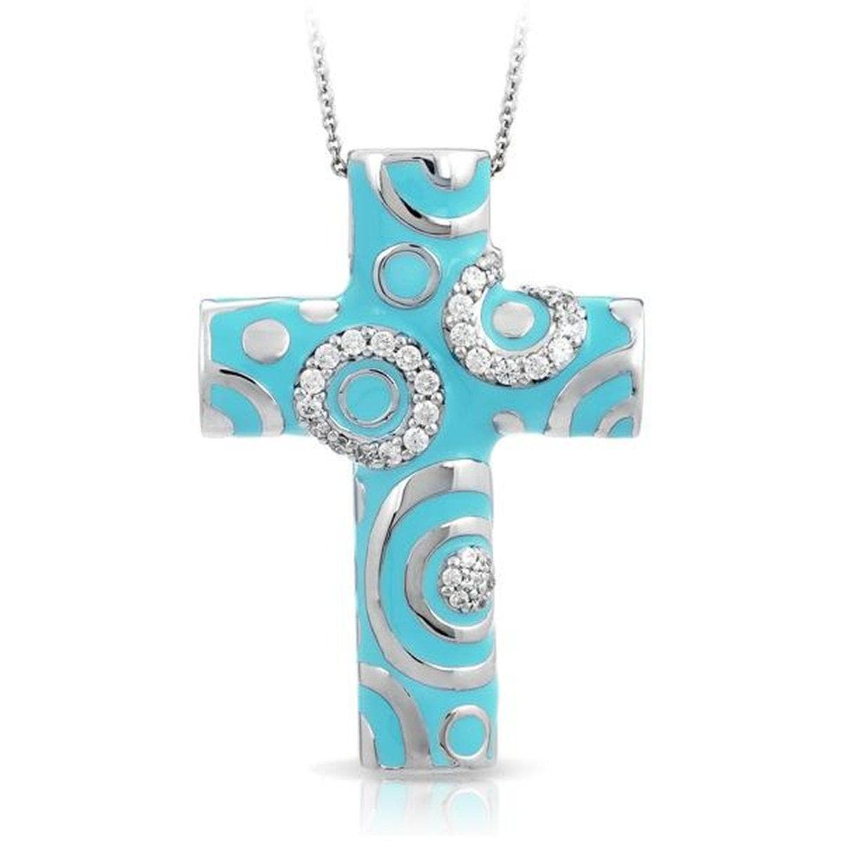 Galaxy turquoise cross pendant belle etoile belle etoile galaxy turquoise cross pendant aloadofball Image collections