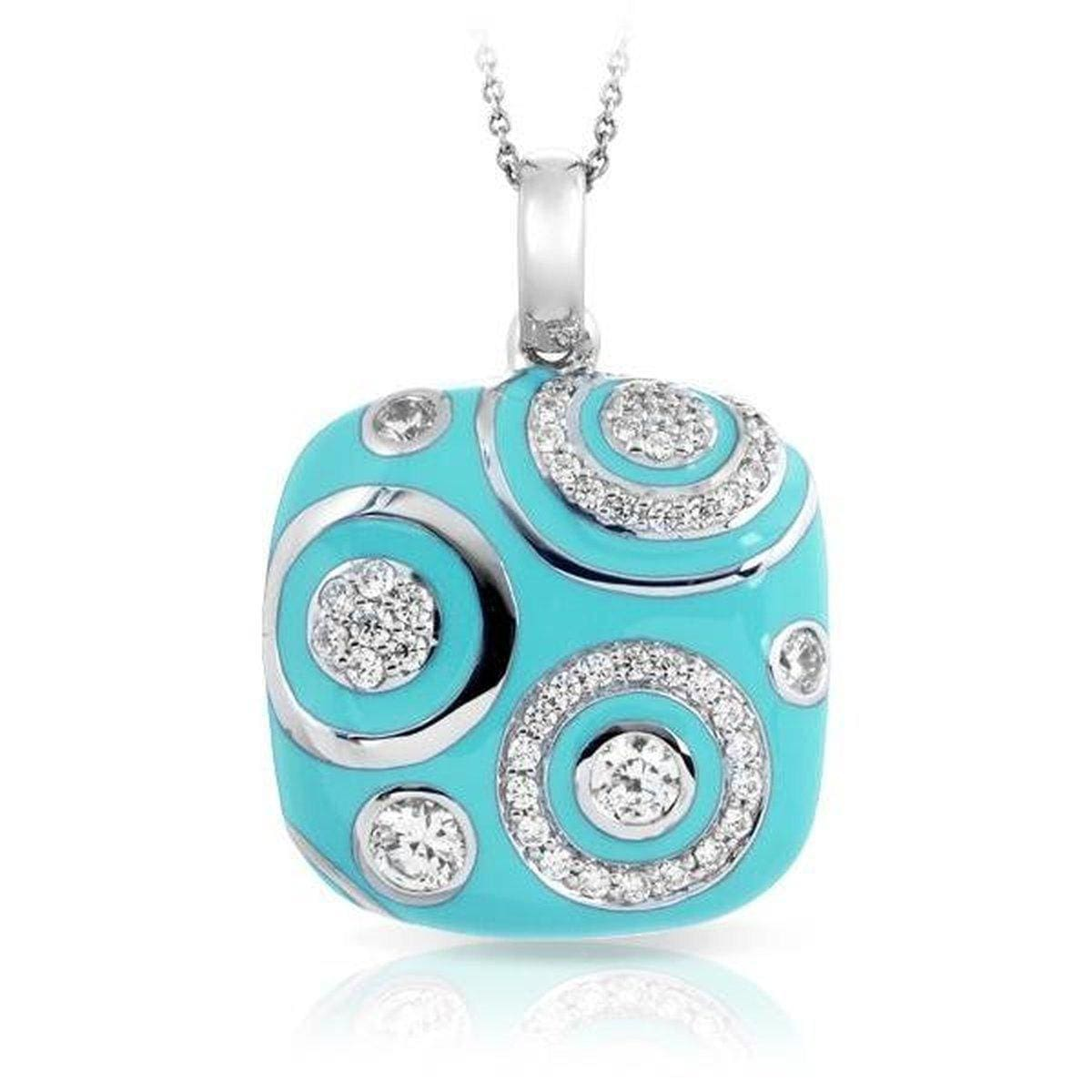 Galaxy Turquoise Pendant-Belle Etoile-Renee Taylor Gallery