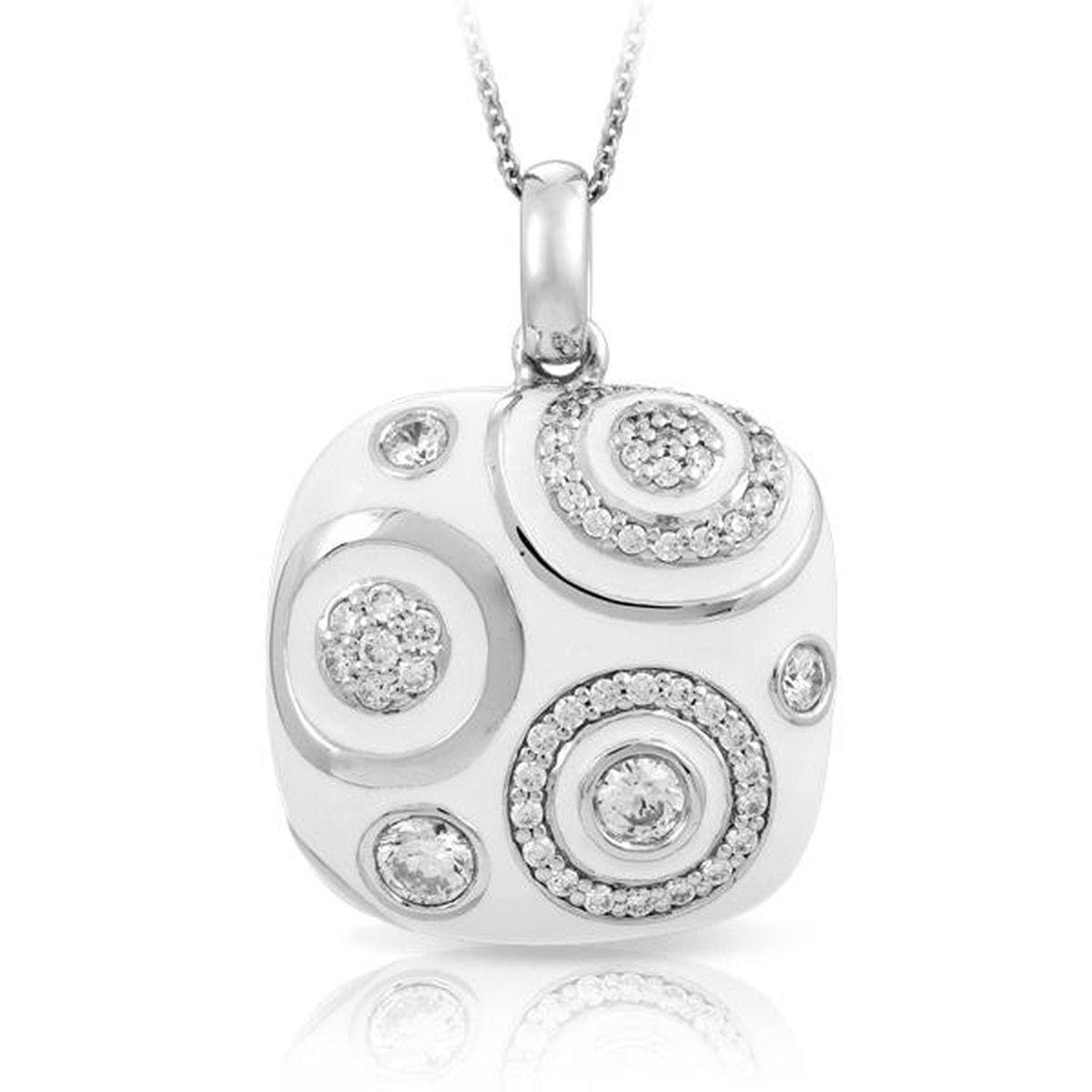 Galaxy White Pendant-Belle Etoile-Renee Taylor Gallery