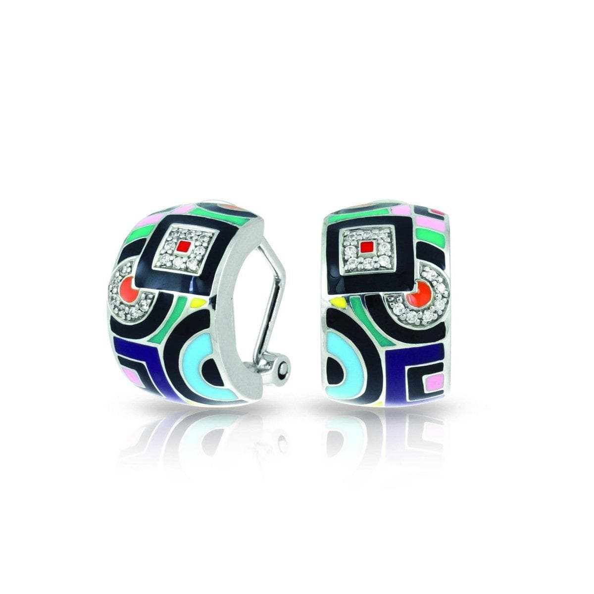 Geometrica Multi Earrings-Belle Etoile-Renee Taylor Gallery