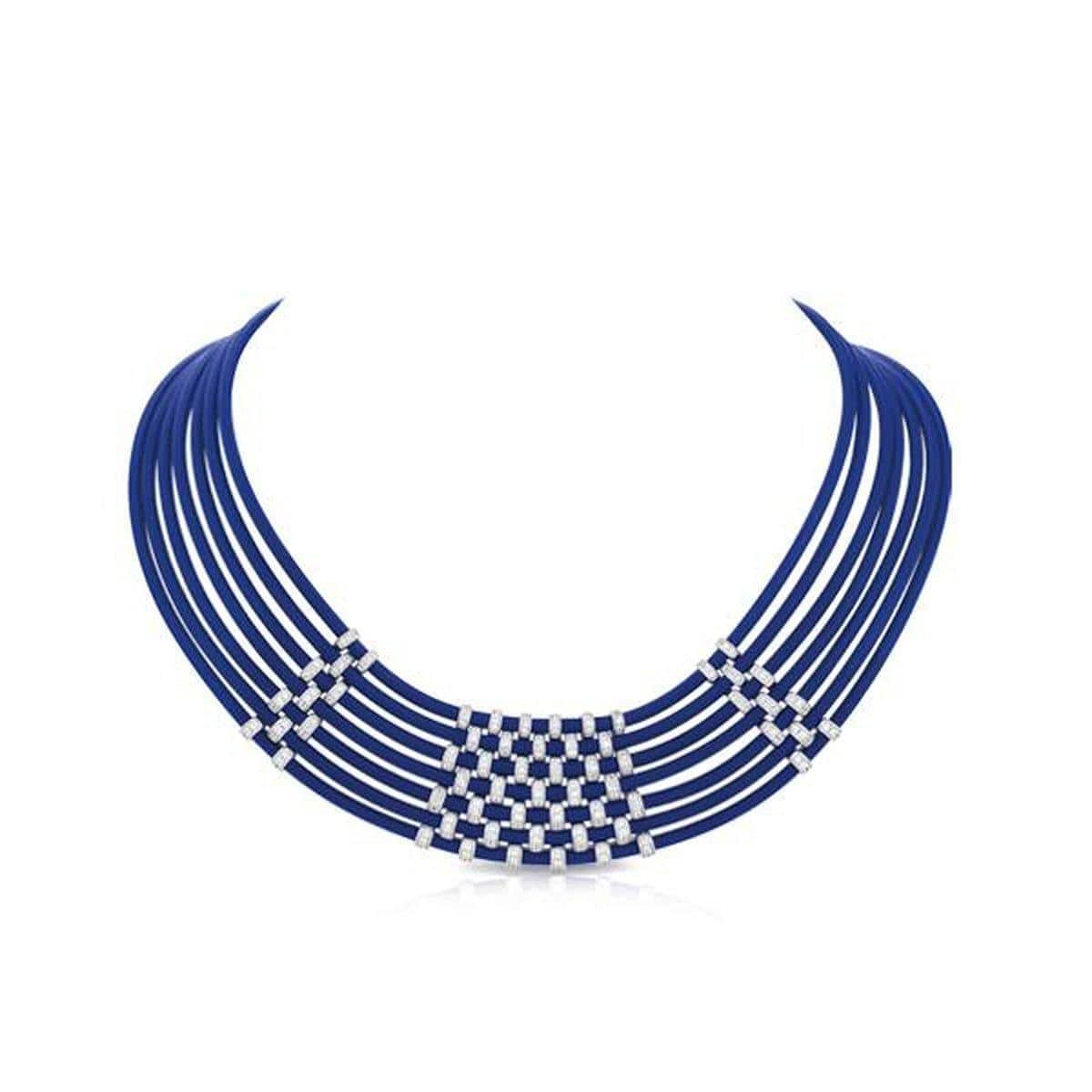 Isis Blue Necklace-Belle Etoile-Renee Taylor Gallery