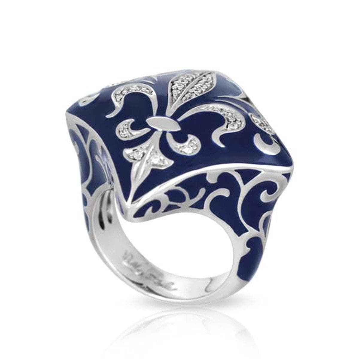 Josephine Blue Ring-Belle Etoile-Renee Taylor Gallery