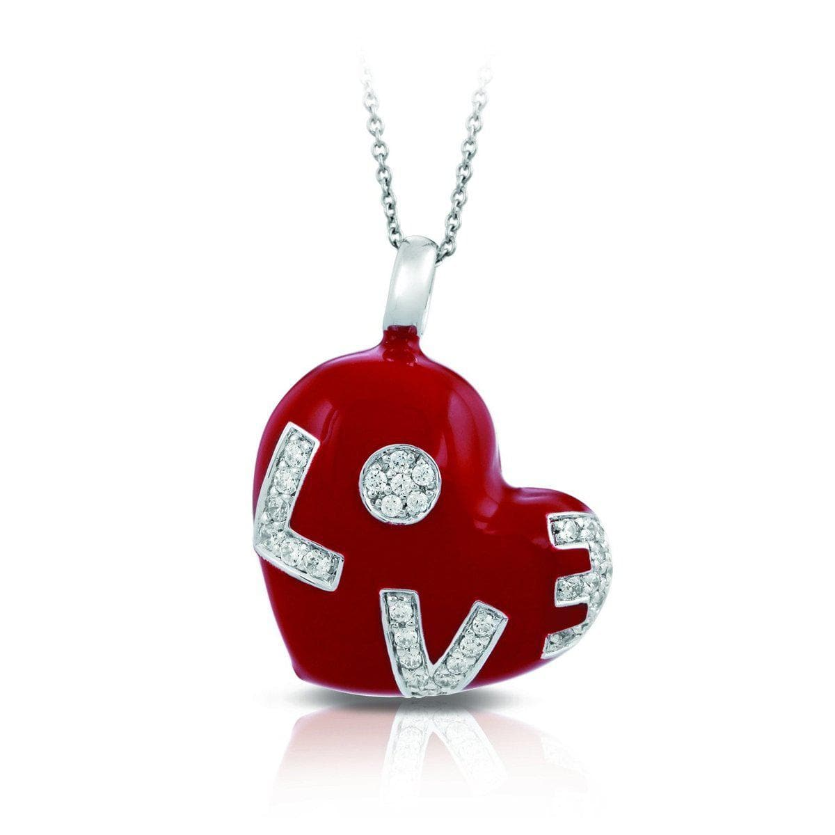 Love Red Pendant-Belle Etoile-Renee Taylor Gallery