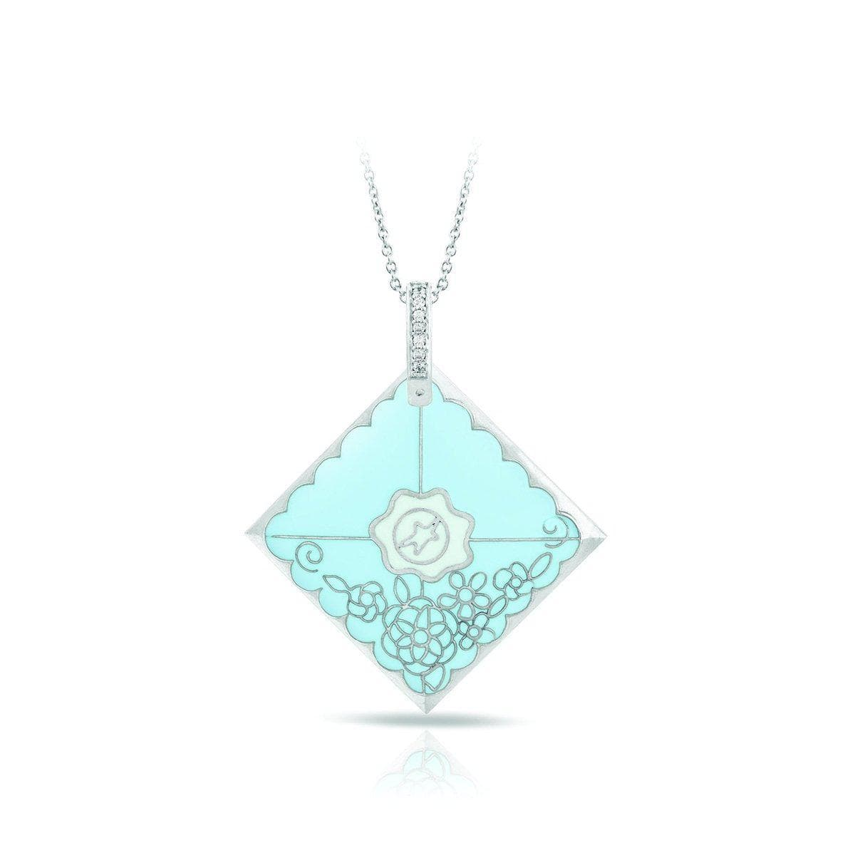 Love Letter Blue Pendant