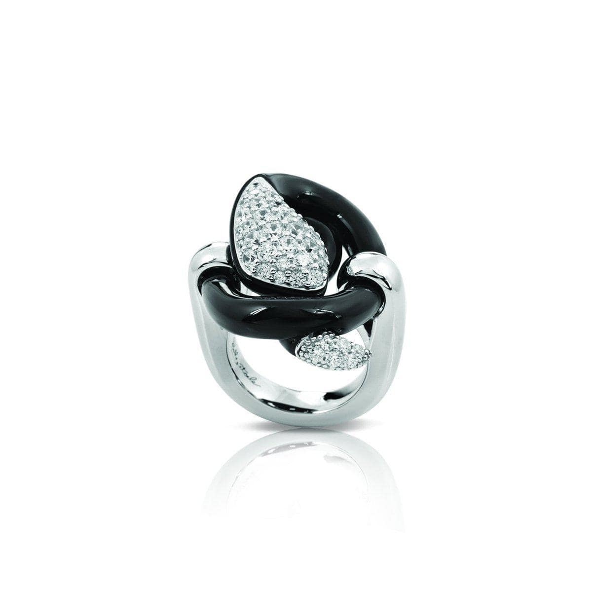 Mamba Black Ring-Belle Etoile-Renee Taylor Gallery