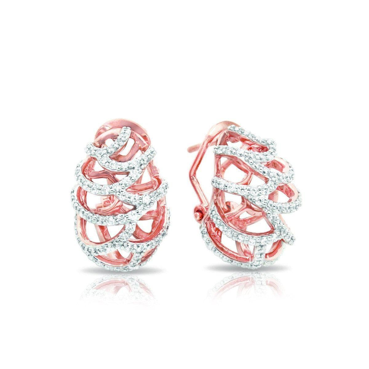 Monaco Rose Earrings-Belle Etoile-Renee Taylor Gallery