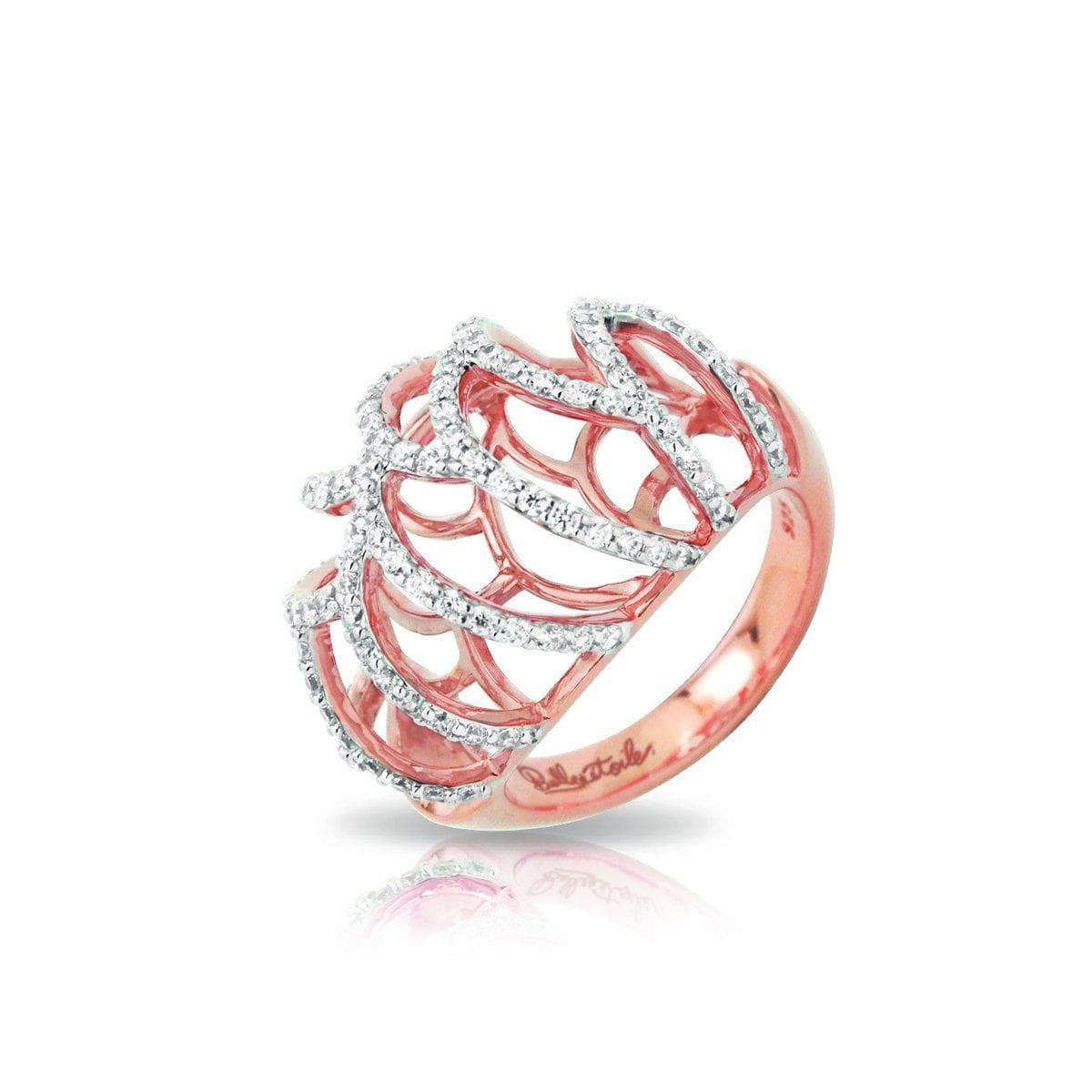 Monaco Rose Ring-Belle Etoile-Renee Taylor Gallery