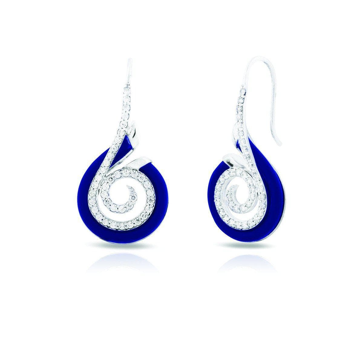 Oceana Blue Earrings-Belle Etoile-Renee Taylor Gallery