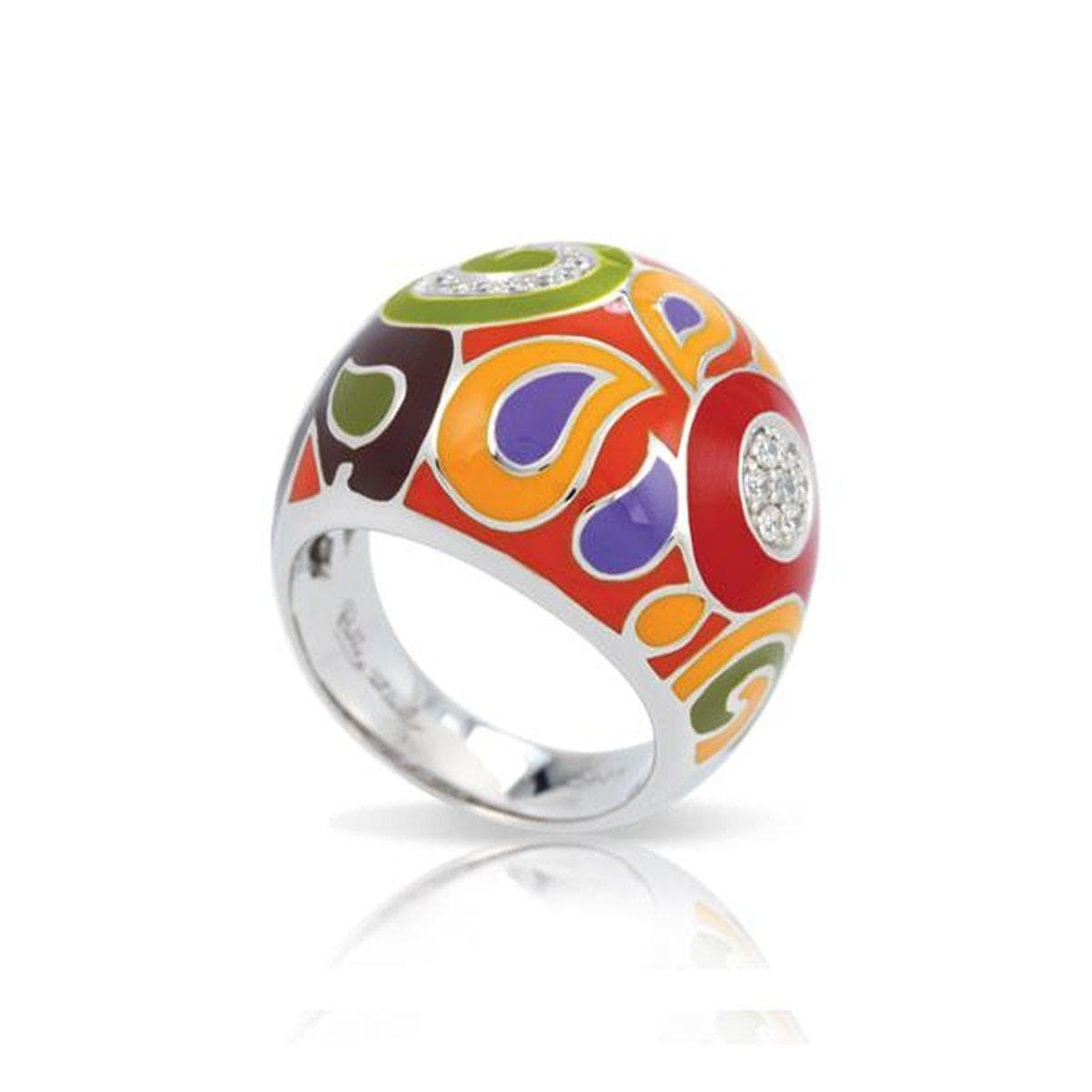 Paisley Multi Ring-Belle Etoile-Renee Taylor Gallery