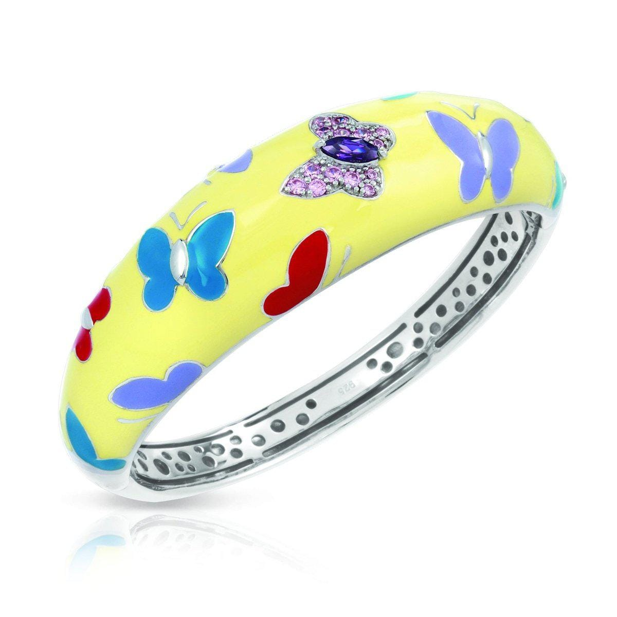 Papillon Yellow Bangle-Belle Etoile-Renee Taylor Gallery