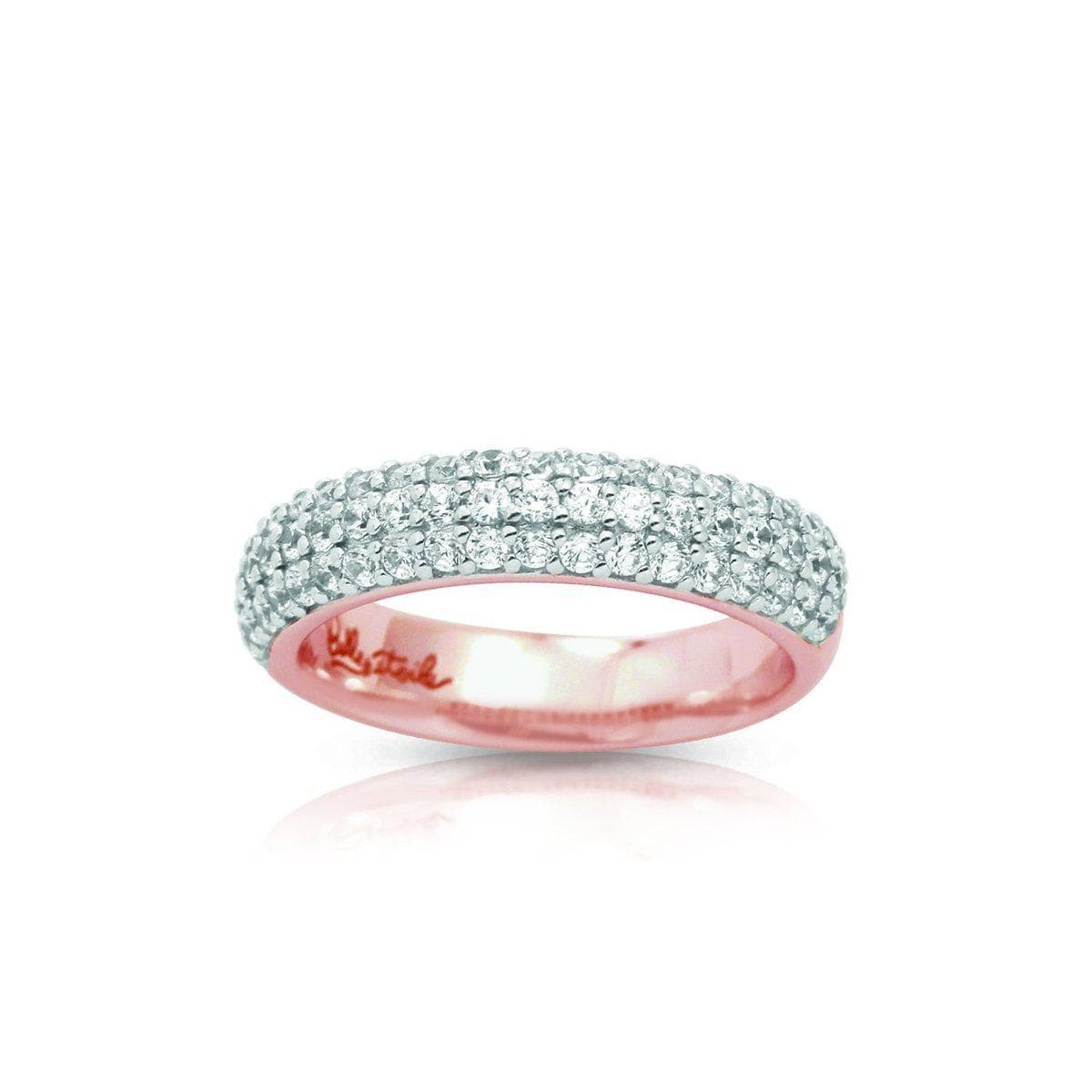 pave Rose Ring-Belle Etoile-Renee Taylor Gallery